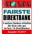 comdirect Girokonto mit Kreditkarte Testsieger Bankentest Service